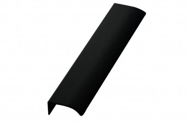 front greep 40 mm mat zwart