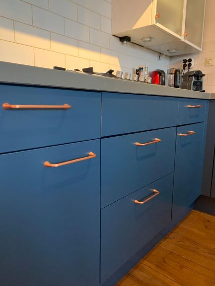 greep-keuken-koper