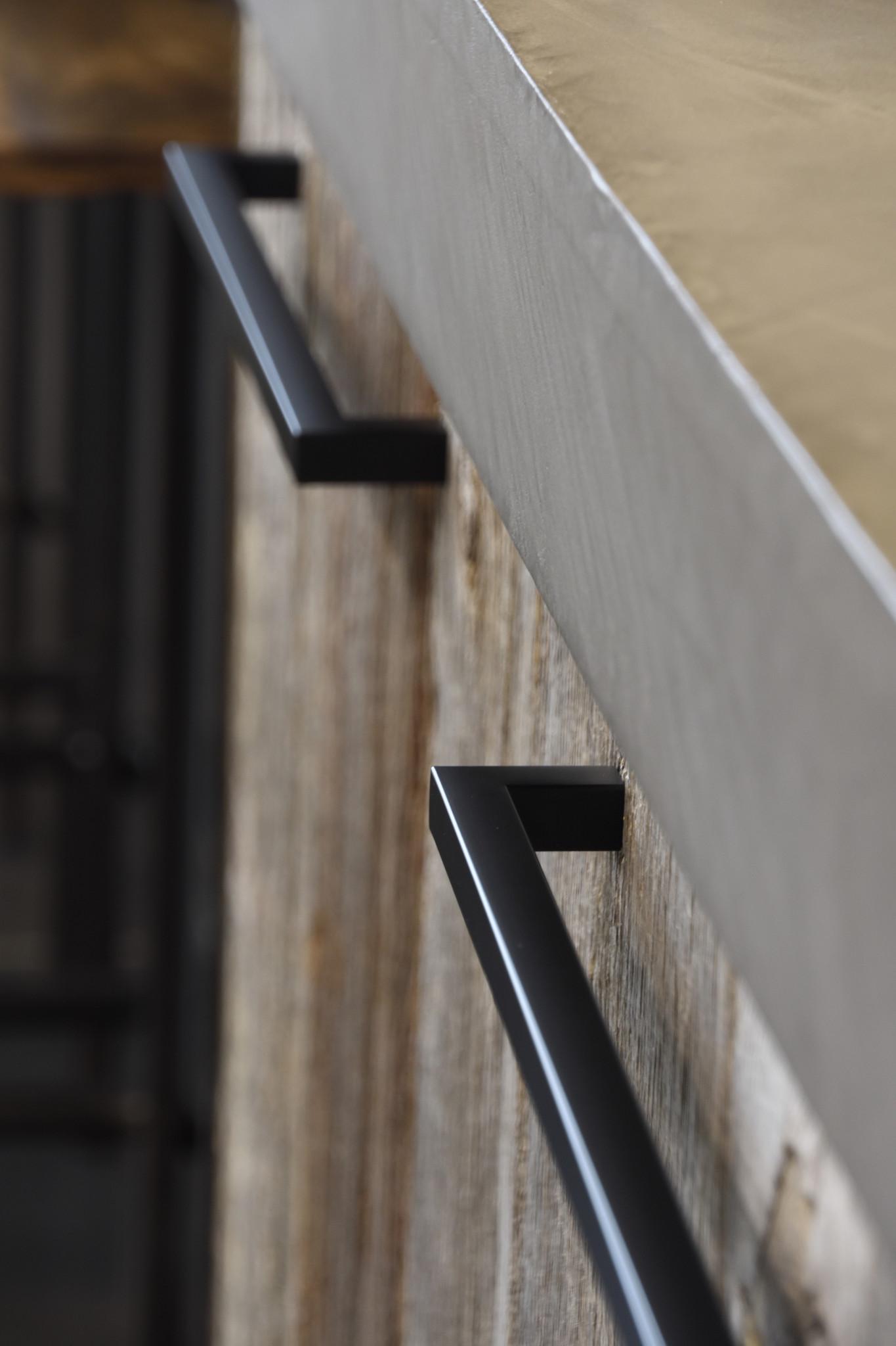 greep mat zwart