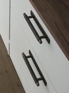 meubel met greep Blaricum brons met achterplaats
