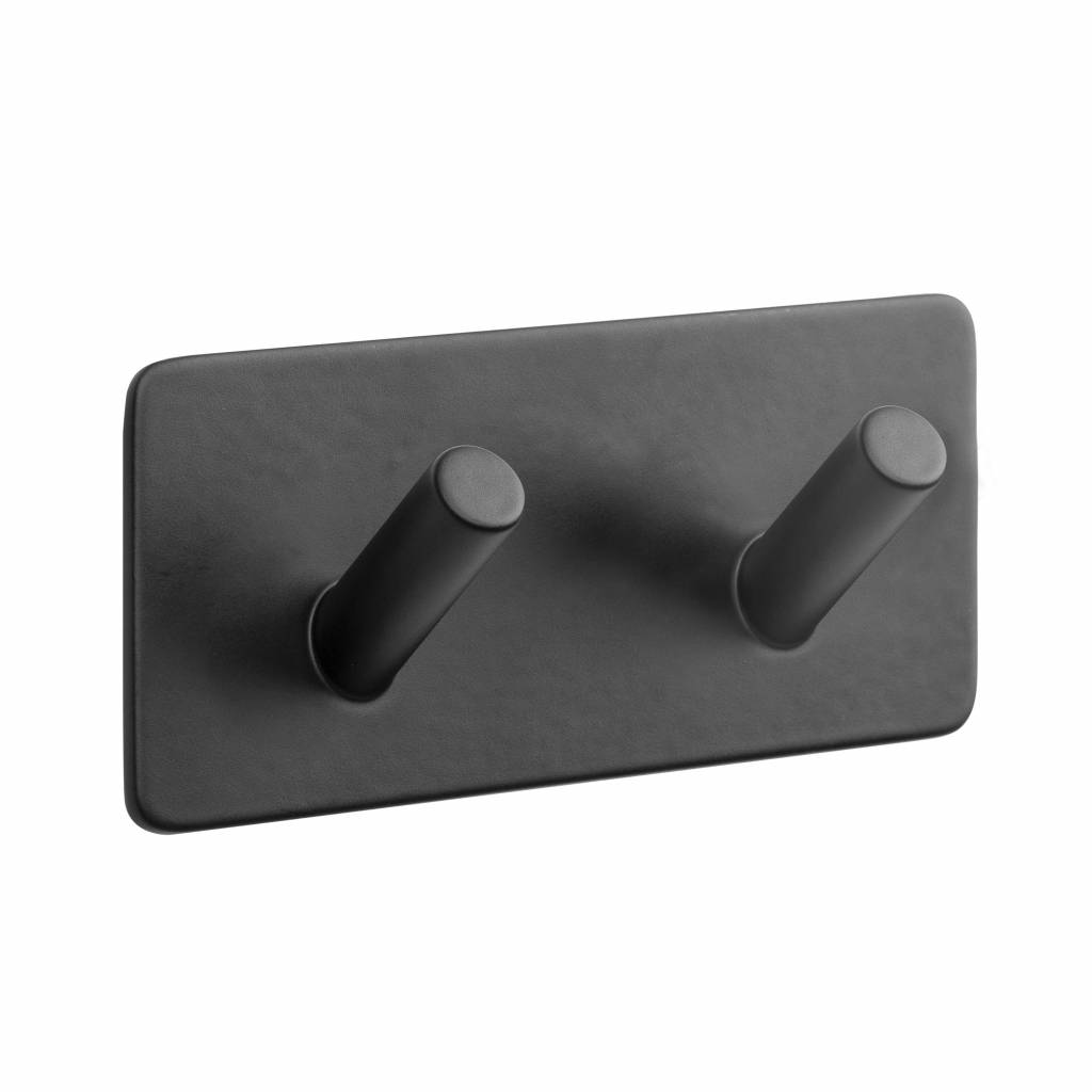 rechthoek haakje duo mat zwart