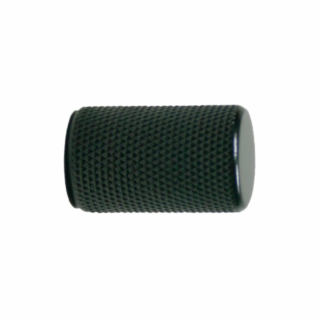 stift knop 17,5 mat zwart