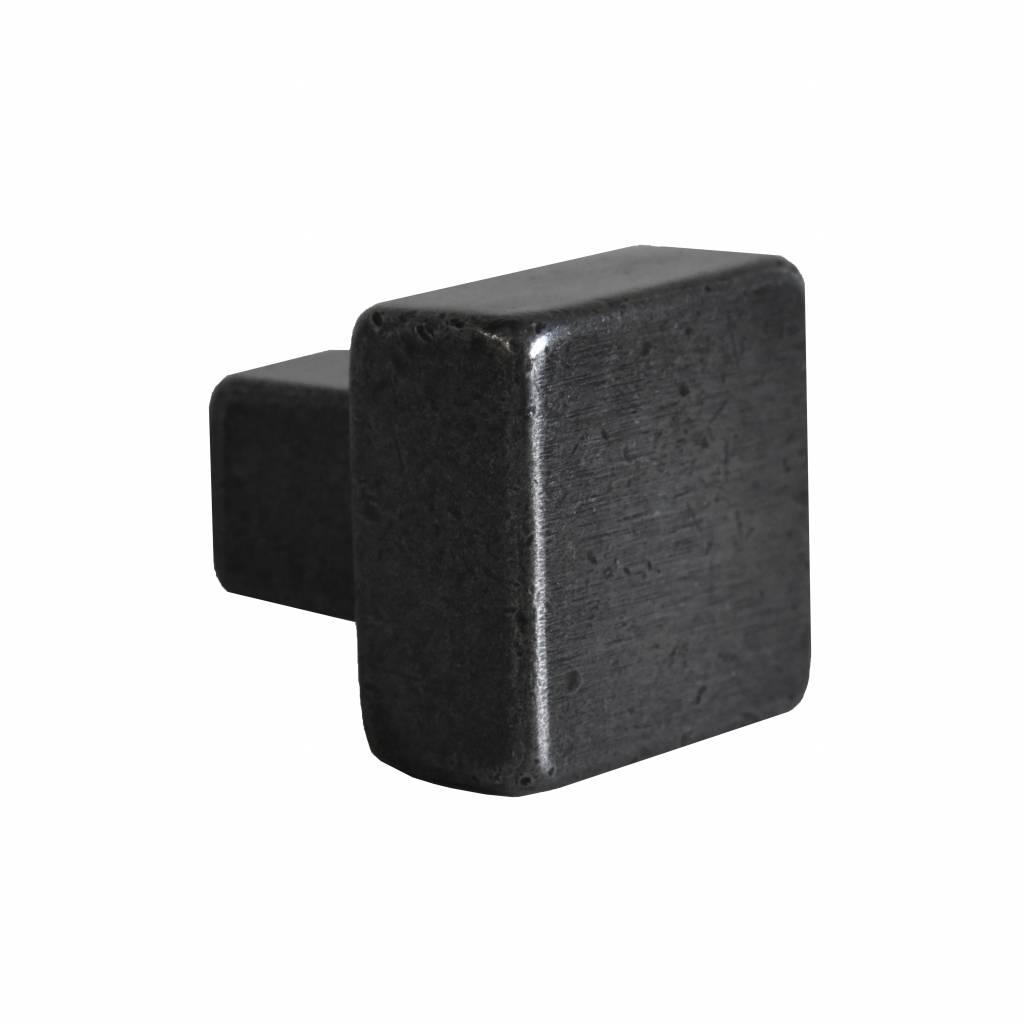 deurknop 30 mm mat zwart