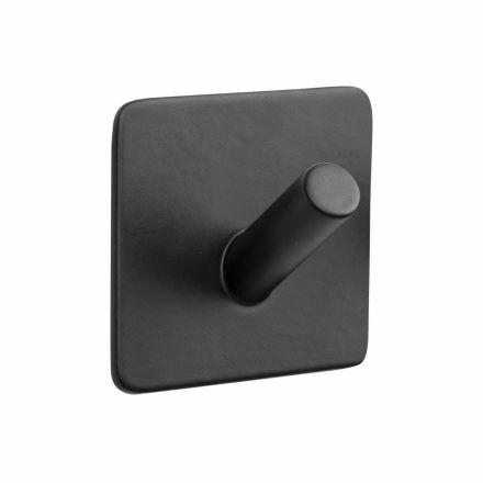 vierkant haakje mono mat zwart